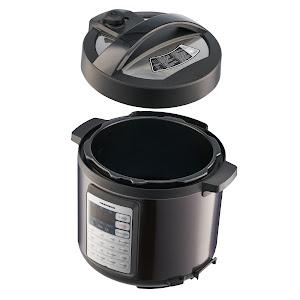Multicooker cu gatire sub presiune Heinner 1000W, 5.7l, 14 programe