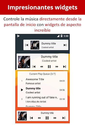 Musicolet Reproductor de Música [sin anuncios] screenshot 8