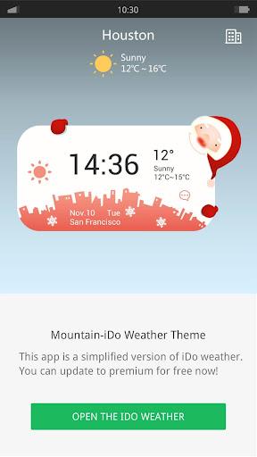 Christmas - iDO Weather widget