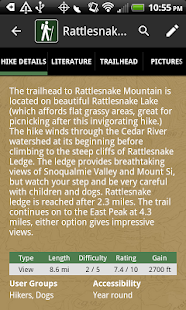 Pacific Northwest Hikes- screenshot thumbnail