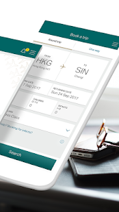 Cathay Pacific- screenshot thumbnail