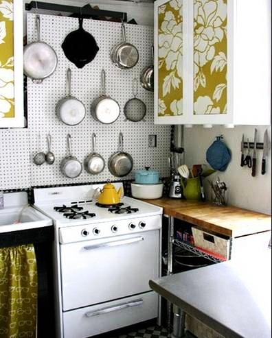 かわいいキッチンデザイン