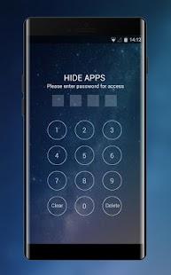 Theme for Xiaomi Mi Max 2: Galaxy Sky - náhled