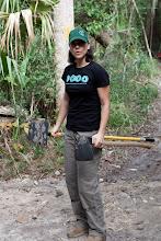Photo: Jenny 'splains how to handle tools