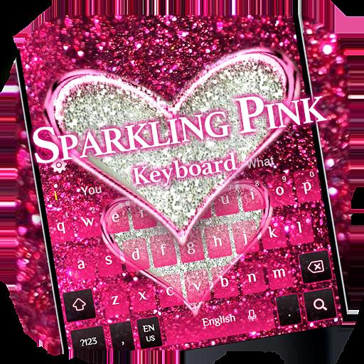 Sparkling Pink Keyboard