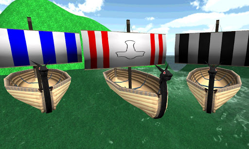 Vikings Medieval ships parking
