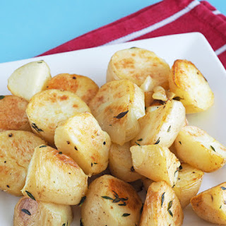 Roasted Thyme Potatoes.