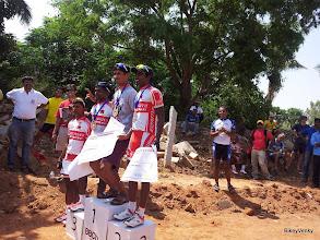 Photo: Ambi(?)(4th, SKCT), Loki(3rd, SKCT), Sridhar Savanur(1st, Team Wheelsports) and Laxman Kurni(2nd, SKCT)