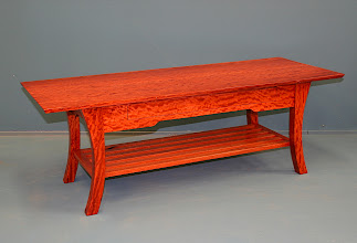 Photo: Coffee Table - River Red Gum Paul Sheppard his glorious first woodwork