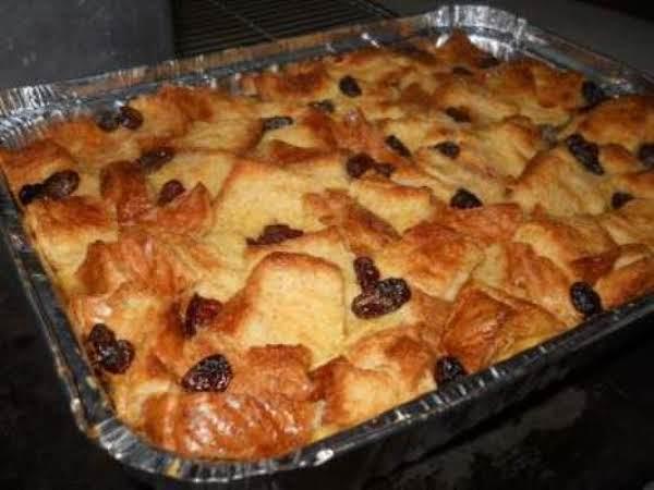 Custard Bread Pudding Recipe