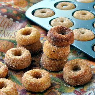 Cinnamon Pumpkin Donut Bites