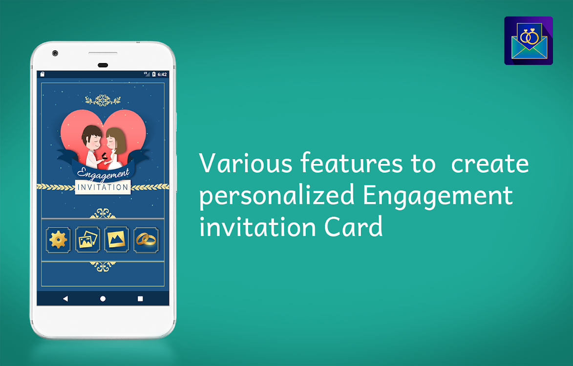 Engagement Invitation Card Maker Android Applications