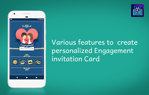 Engagement invitation card maker apps on google play screenshot image stopboris Choice Image