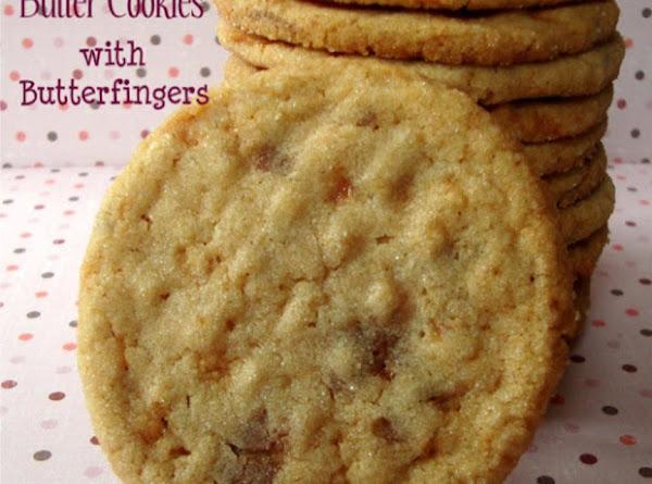 Peanut Butterfinger Cookies Recipe