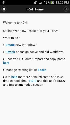 I-D-I Workflow Tracker