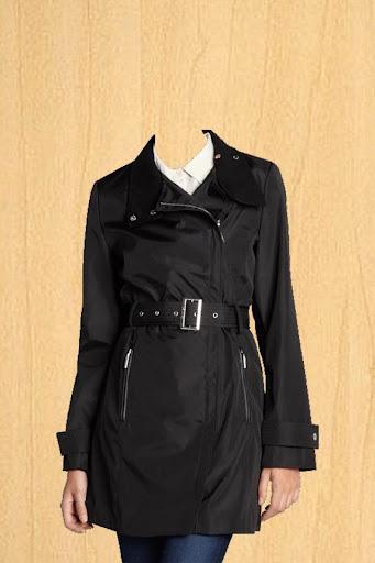 Women Trench coat Photo Suit