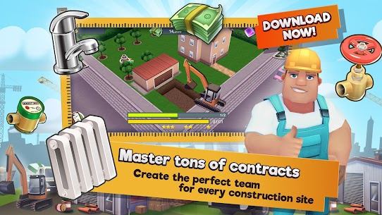 Construction Hero MOD APK 1.0.542 [Unlimited Diamonds + Cash] 2
