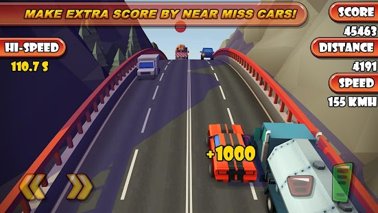 Highway Traffic Racer Planet Screenshot