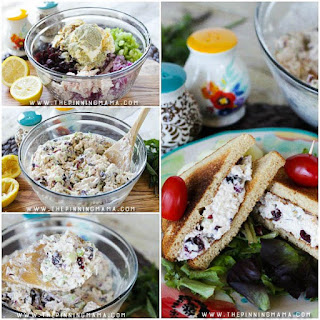Cranberry Almond Chicken Salad
