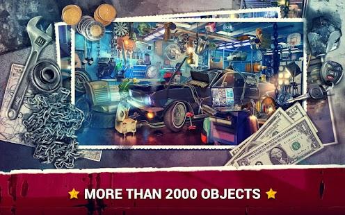 Hidden Objects Car Theft - Garage Case - náhled
