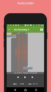 Secret voice recorder (SVR) poster