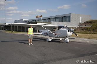 Photo: Anders og NRO på Billund Lufthavn.