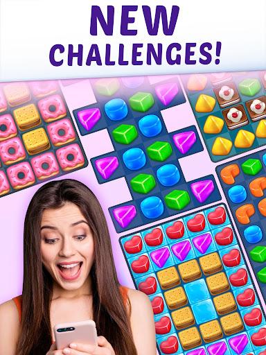 Gummy Paradise - Free Match 3 Puzzle Game  screenshots 10