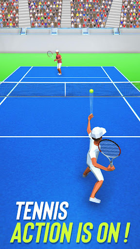 Tennis Fever 3D: Free Sports Games 2020 android2mod screenshots 1