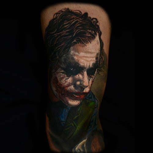 best joker tattoos designs ideas