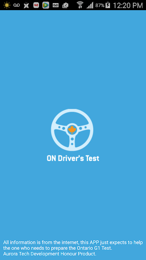 Ontario G1 Test