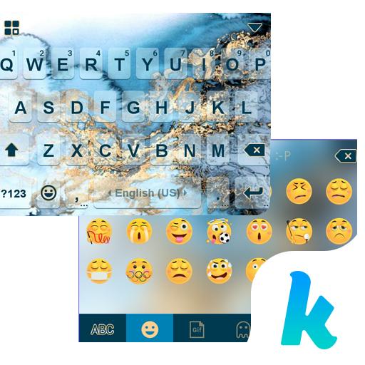 Texture Emoji Kika keyboard