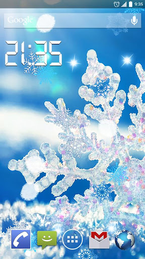 Macro Winter 4K Live Wallpaper