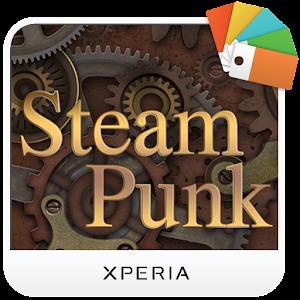 XPERIA  Steampunk Theme Gratis