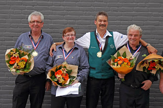 Photo: De vier kampioen van district Oss