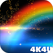 4K Rainbow Animated Live Wallpaper