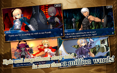 Fate/Grand Order (English) APK screenshot thumbnail 2