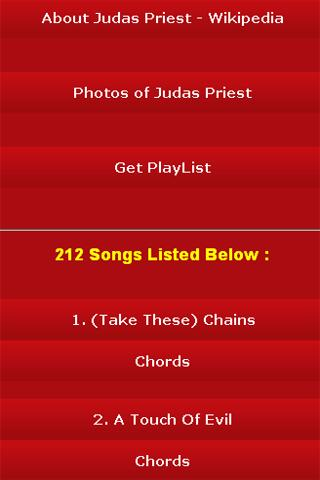 android All Songs of Judas Priest Screenshot 2