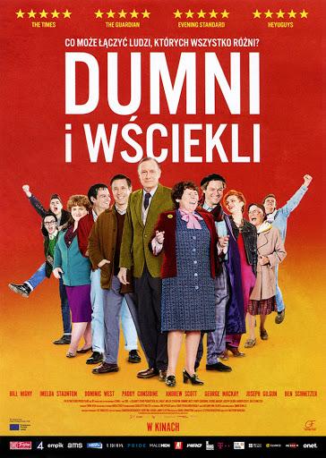 Przód ulotki filmu 'Dumni i Wściekli'