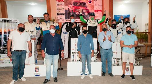 José Maria Zapata gana el VII Rally Crono Indamóvil  Ciudad de Enix