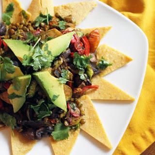 Super Star Lentil Taco Salad [Vegan, Gluten-Free].