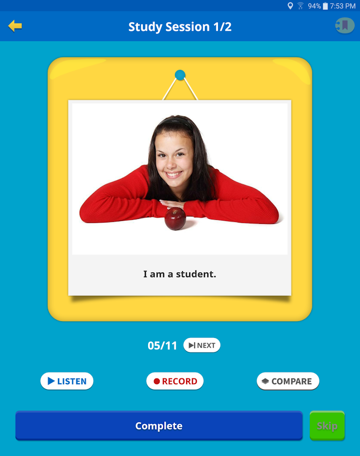 Learn English for Kids- screenshot