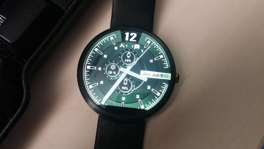 Sharp Watch Face- screenshot