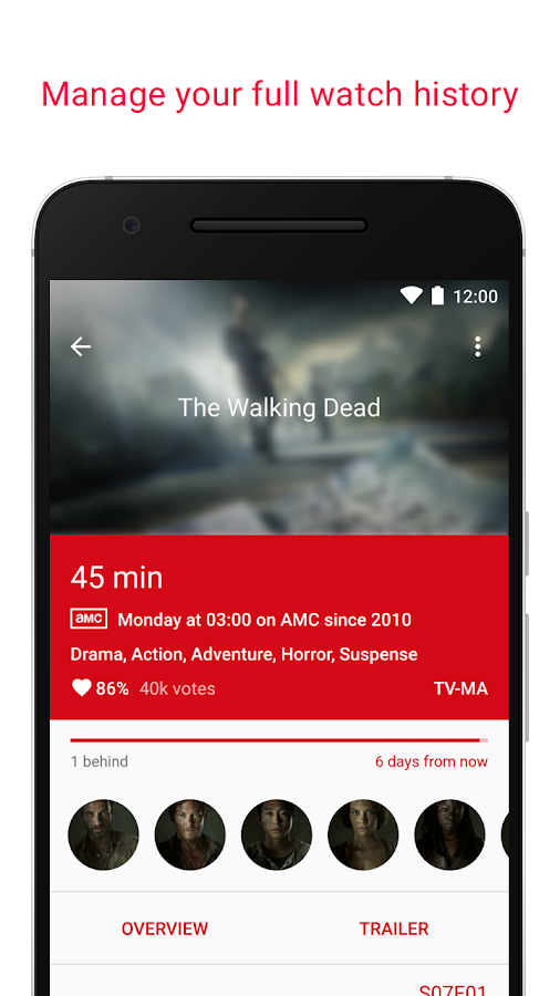 SERIST - Your TV Show Tracker- screenshot