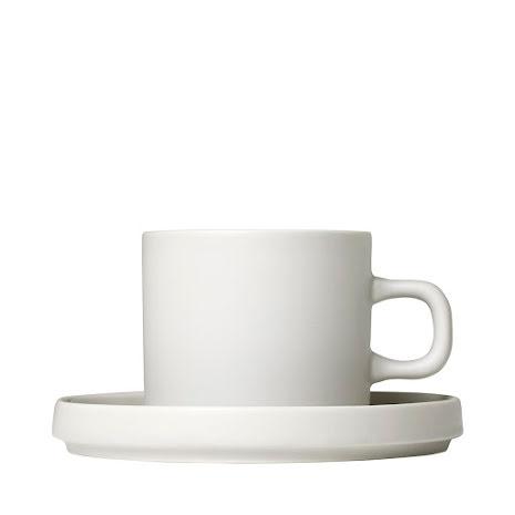 PILAR, Set 2 kaffemuggar & fat, 4 delar, Moonbeam