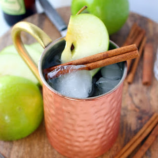 Apple Ginger Moscow Mule.