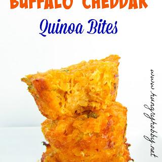 Buffalo Cheddar Quinoa Bites.