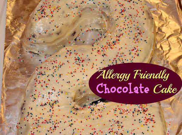 Allergy Friendly Chocolate Cake Recipe
