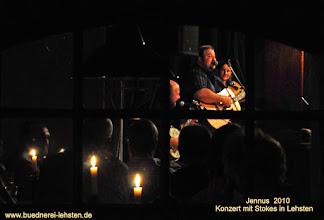 Photo: Konzert mit Stokes in Lehsten bei Möllenhagen  http://www.buednerei-lehsten.de