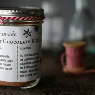 Homemade Hot Chocolate Mix.