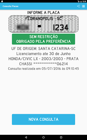 Consultar Placas Detran 2.7.10 screenshot 642228